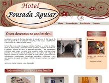 Tablet Preview of hotelpousadaaguiar.com.br
